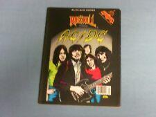 ROCK N' ROLL COMICS # 7 MAGAZINE SIZE AC/DC-ALICE COOPERTOTAL 10 ISSUES