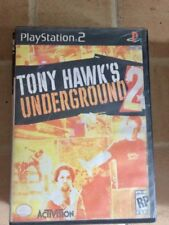 PS2 DVD GAMES -used- TONY HAWK'S UNDERGROUND 2