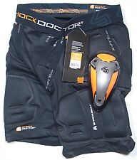 Shock Doctor Shockskin Lax Relaxed Fit Impact Short For Men Size: Large New