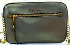 Michael Kors Polly Large EW Nylon Crossbody Bag in Green Olive