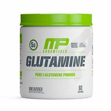 MusclePharm GLUTAMINE Amino Acid Recovery 300g 60 Serv UNFLAVORED MP FREE TATTOO