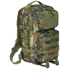 Backpack With Patch Surface Brandit 8022 Tactical 25l US Cooper MOLLE Flecktarn