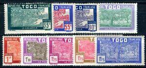 TOGO 1928 Yvert 153-160 ** POSTFRISCH TADELLOS SATZ (F4718