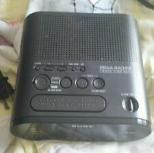 Sony Dream Machine AM/FM Digital Alarm Clock Radio ICF-C218