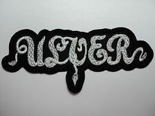 ulver   EMBROIDERED PATCH