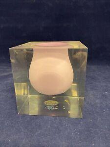 Jonathan Adler Lilac Bel Air Mini Scoop Vase
