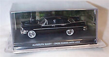 JAMES BOND Plymouth Savoy From Russia With Love New Sealed PACKAGED