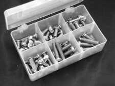 Schrauben Box  Linsenschrauben M6 aus Edelstahl