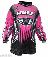 Pink Kids Wulfsport Shirt Jersey Motocross Quad Child Youth Girl Moto X Pw Lt