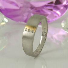 Ringe mit Diamanten-Stil und SI Reinheit im Bandring natürliche