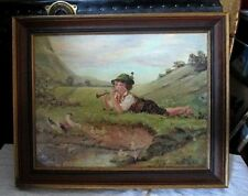 Öl-Malerei Romantik Porträts
