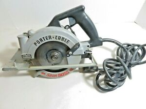 """Porter Cable 345 Saw Boss Circular saw 6"""" Heavy Duty Type 1"""