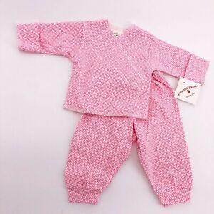 NWT 11-15 LBS Newborn 2Pc Set Long Sleeve Tee & Pant Babies Girls Baby Girl