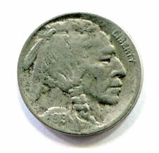 1919 S BUFFALO NICKEL full horn