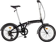 Vélo 20'' pliable aluminium Ultrasport, 7 vitesses Shimano