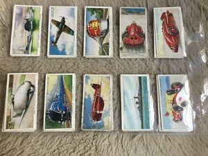 SPEED - Wills cigarette cards 1938 set of 20