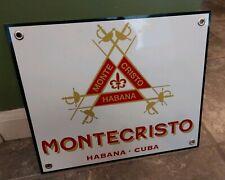 Montecristo Cigar Cigars Tobacco sign....USA made
