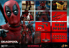 Hot Toys 1/6th MMS490 Deadpoo 2 Once Upon A Deadpool Wade Wilson Figure Toy Gift