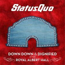 STATUS QUO DOWN DOWN & DIGNIFIED AT THE ROYAL ALBERT HALL CD NEW