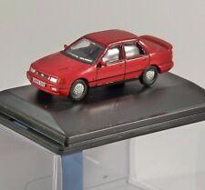 FORD Sierra Sapphire Cosworth in Rosso-Modello in scala 1/76 Oxford Diecast