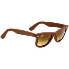 Rayban Plastic Frame Brown Gradient Lens Unisex Sunglasses 0RB2140QM1169855022