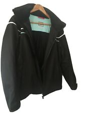 Nevica Womens Ski Jacket Black Size 12 Worn 3 Times Vgc
