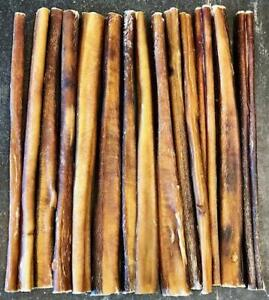 50 pcs 12 inch Beef Bully STICKS USA MADE Dog Treat True Chews Fresh Low/No Odor