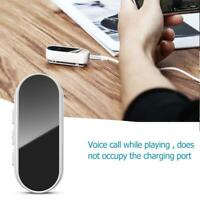 Baseus BAO2 Bluetooth 5.0 Adapter Wired to Wireless Headset Media Receiver #B