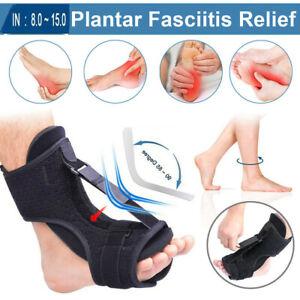 Night Splints for Plantar Fasciitis Adjustable Foot Drop Ankle Brace Pain Relief