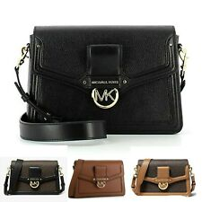 Michael Kors Jessie Medium Two-Tone Logo Shoulder Bag MK RRP £305