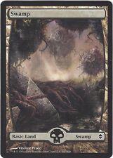 TCG MtG 166 Magic the Gathering Zendikar Full Art Land  Swamp/Sumpf
