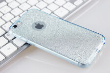 360 Protective Crystal Glitter Case Clear Soft Rubber Cover for iPhone 7 Plus 6