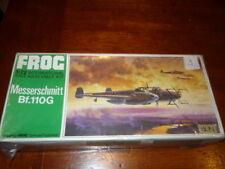 FROG -AEREO MILITARE- MESSERSCHMITT BF.110G - SCALA 1:72 - NUOVO - ART.F202 1971