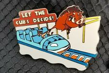 Disney WDW Wild about Safety Let the Cubs Decide Pin