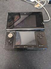 Nintendo 3DS Cosmo Black Console only Euro EU PAL