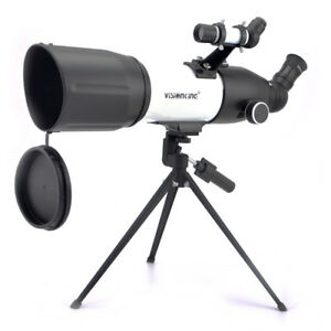 Visionking 50 60 70 80 mm Astronomical Telescope Glass lens 1.25'' Right Image