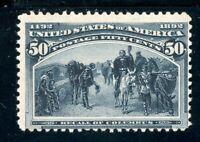 USAstamps Unused FVF US 1893 Columbian Expo Recall of Columbus Scott 240 OG MNH