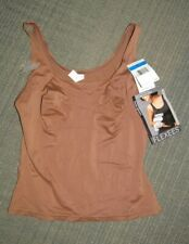 FLEXEES BY MAIDENFORM Shapewear Brown Tank Top Women's XL Everyday Control NWT