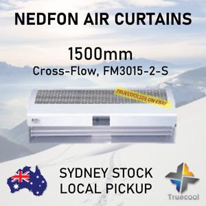 NEDFON  Heavy Duty cross-Flow Type Air Curtain 1500mm (Model: FM3015-2-S)