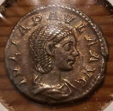 JULIA PAULA 219-220 AD AR DENARIUS RIC-222 (VENVS GENETRIX) 1ST WIFE ELAGABALUS