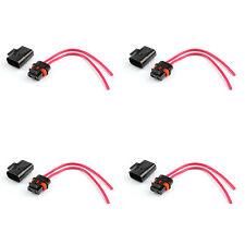 4×Ato Atc Waterproof Medium Blade Fuse Holder 12Awg Wire For Car Trailer Boat.
