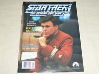 Star Trek The Official Fan Club Magazine 75 Leonard Nimoy Walter Koenig Trek VI