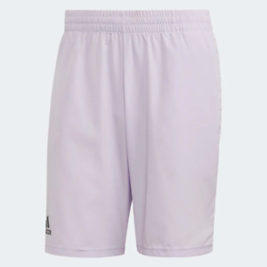 Adidas Men's Club 9 Inch Shorts, Purple Tint / Grey Six
