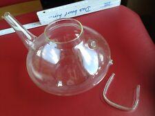 Glaskanne defekt ohne Glasdeckel,  1 Liter von mir lWagenfeld, aber für Bastler