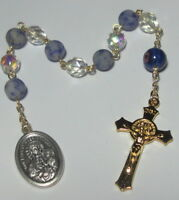 Made in USA Our Lady of Czestochowa Single Decade Rosary w St Benedict Crucifix