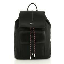 Christian Dior Motion Backpack Nylon and Leather Mini