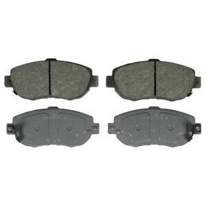 Disc Brake Pad Set-ThermoQuiet Disc Brake Pad Front Wagner QC619