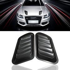 1Pair Car Decorative  Air Flow Intake Scoop Turbo Bonnet Vent Cover Hood Fender