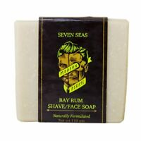 Modern Pirate | Bayrum Shave Soap | Mens Shower & Face Soap |  SAME DAY POST