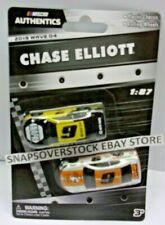 2019 NASCAR AUTHENTICS 1/87 WAVE 04, CHASE ELLIOTT #9 NAPA & #9 MTN DEW CAMARO